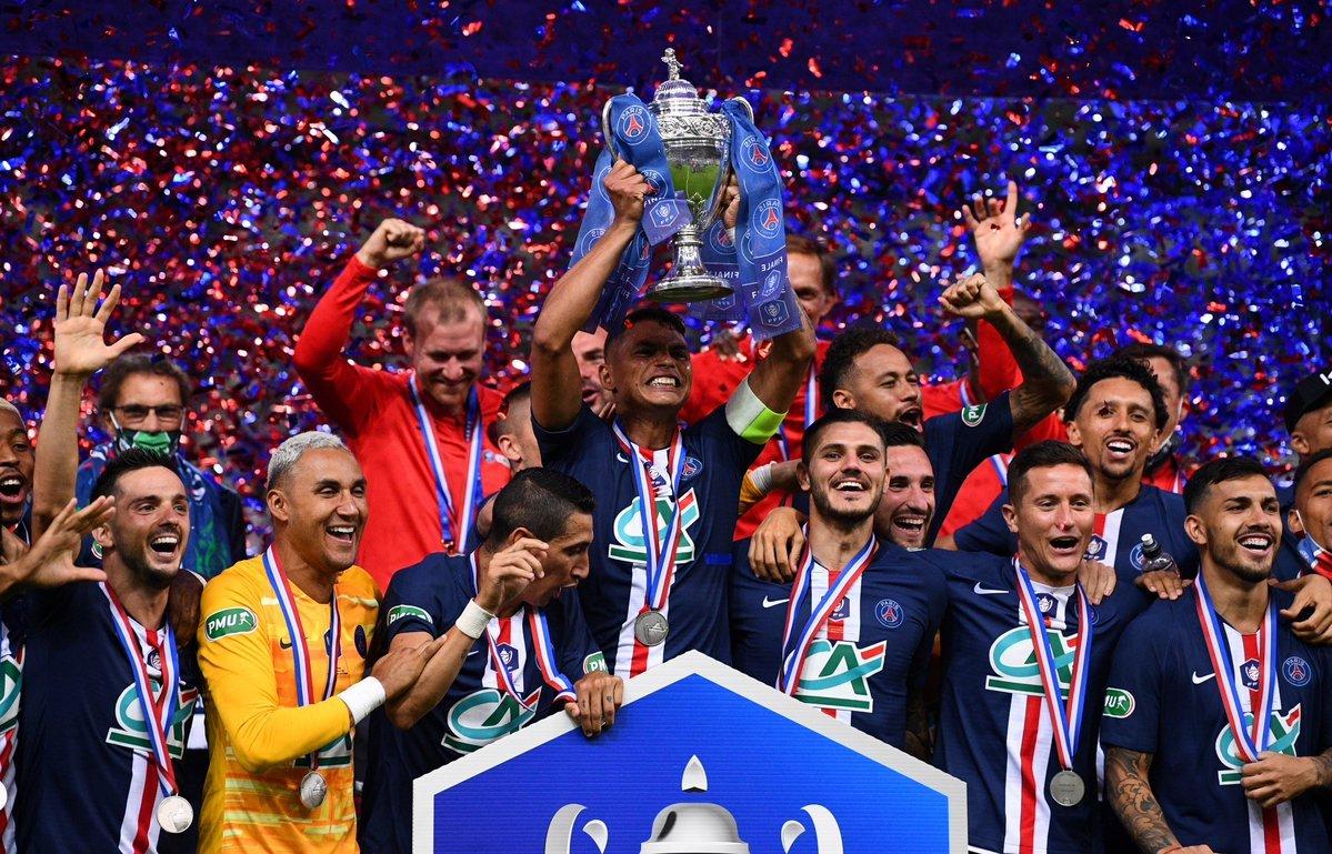 """""""شاهد"""" باريس سان جيرمان بطلاً لكأس فرنسا للمرة ال14 في تاريخه"""