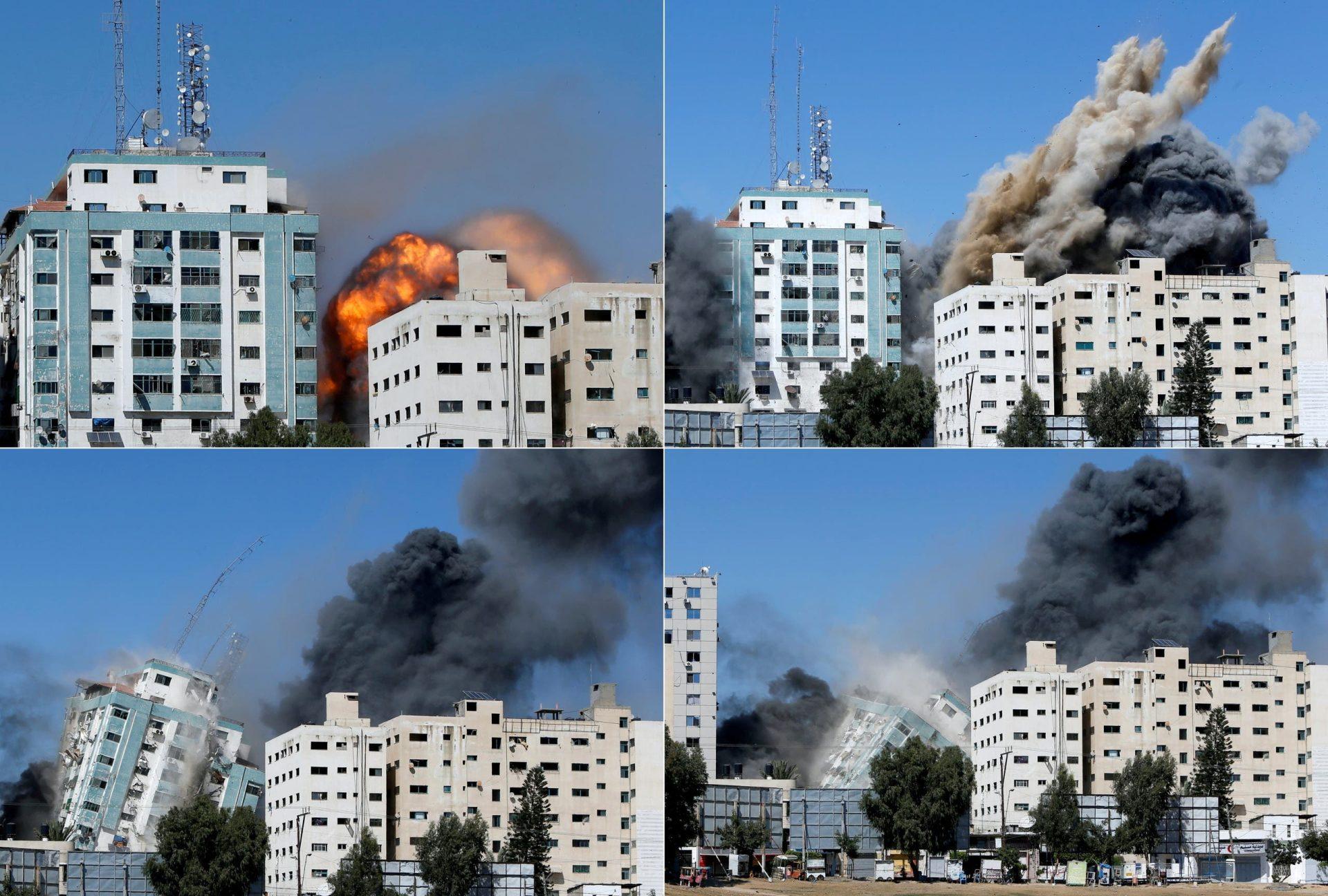 لماذا أعلن مسؤولون إسرائيليون كبار ندمهم على قصف برج الجلاء الذي كان يضم مقر الجزيرة؟