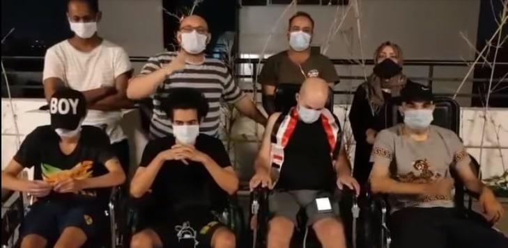 طردوا من المستشفيات بسبب كورونا.. جرحى مظاهرات كربلاء أرسلوا للهند للعلاج ونسيتهم الحكومة!