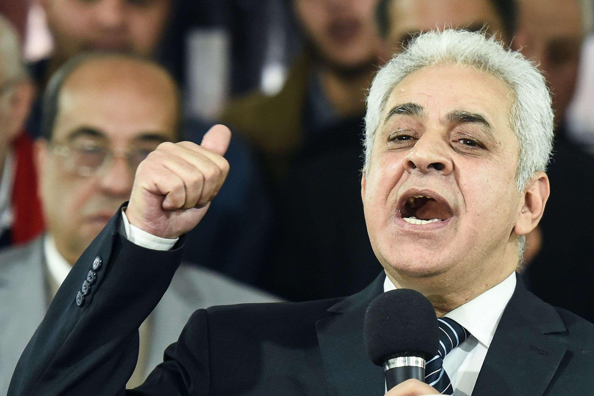 حمدين صباحي يدعو السيسي لتوجيه ضربة عسكرية لسد النهضة بأسرع وقت