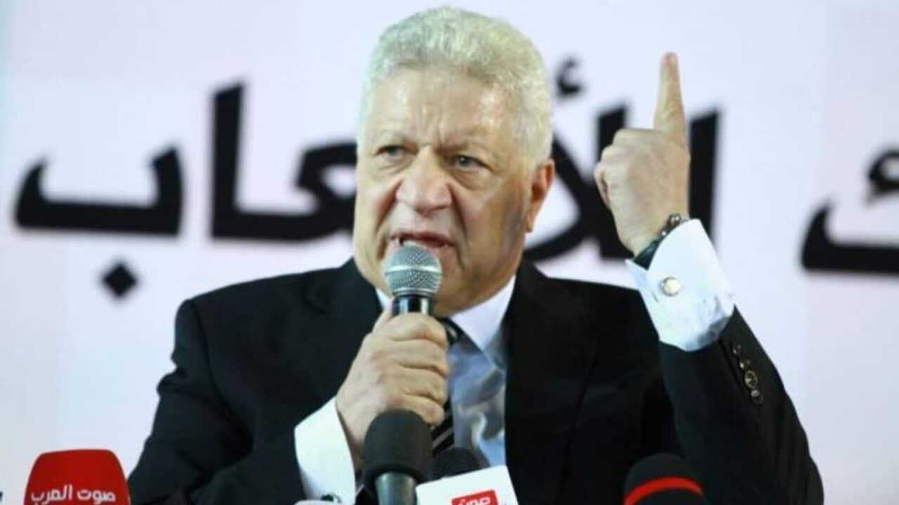 محكمة مصرية تؤجل قرار طعن مرتضى منصور بشأن حل مجلس إدارة الزمالك