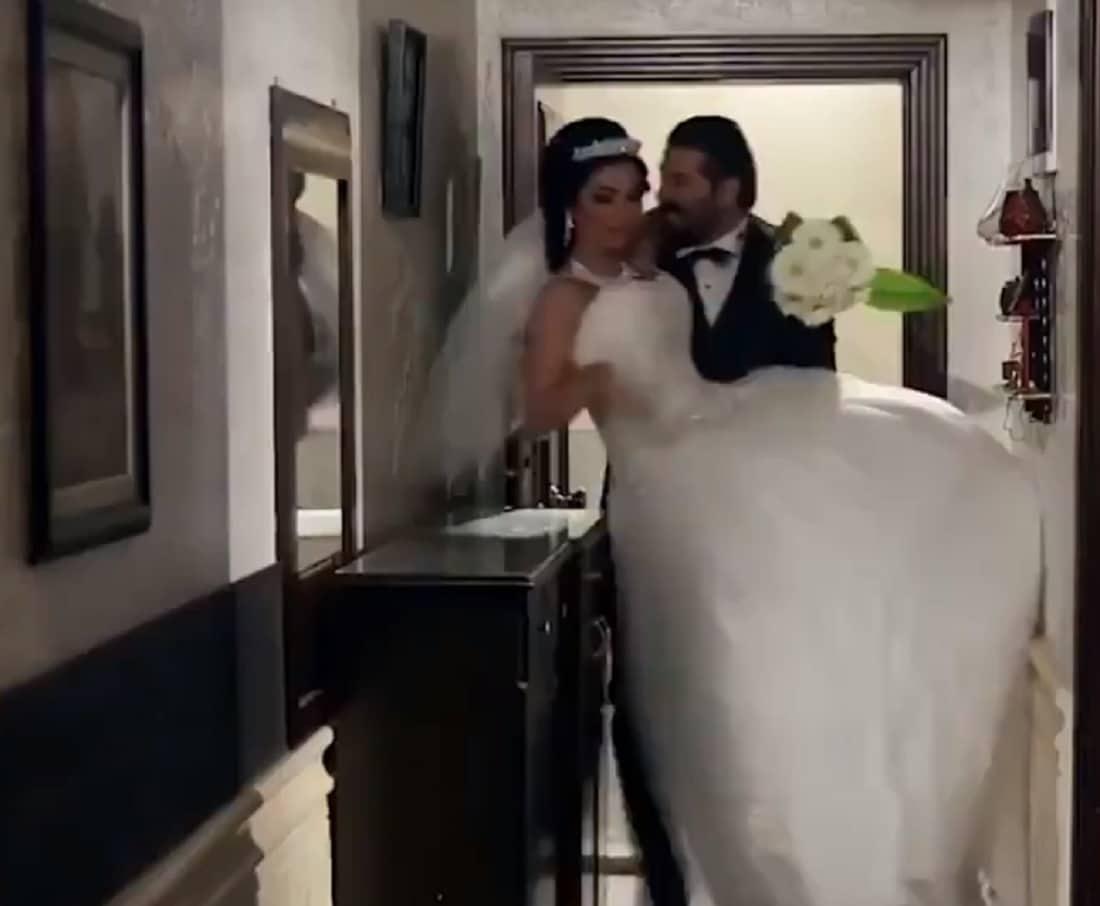 """""""سنة ثانیة زواج"""" .. مشاهد ساخنة بين دانا جبر و يزن السيد وقرار صادم للمسلسل في سوريا!"""