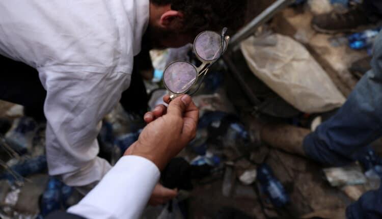 ضحايا التدافع في جبل الجرمق