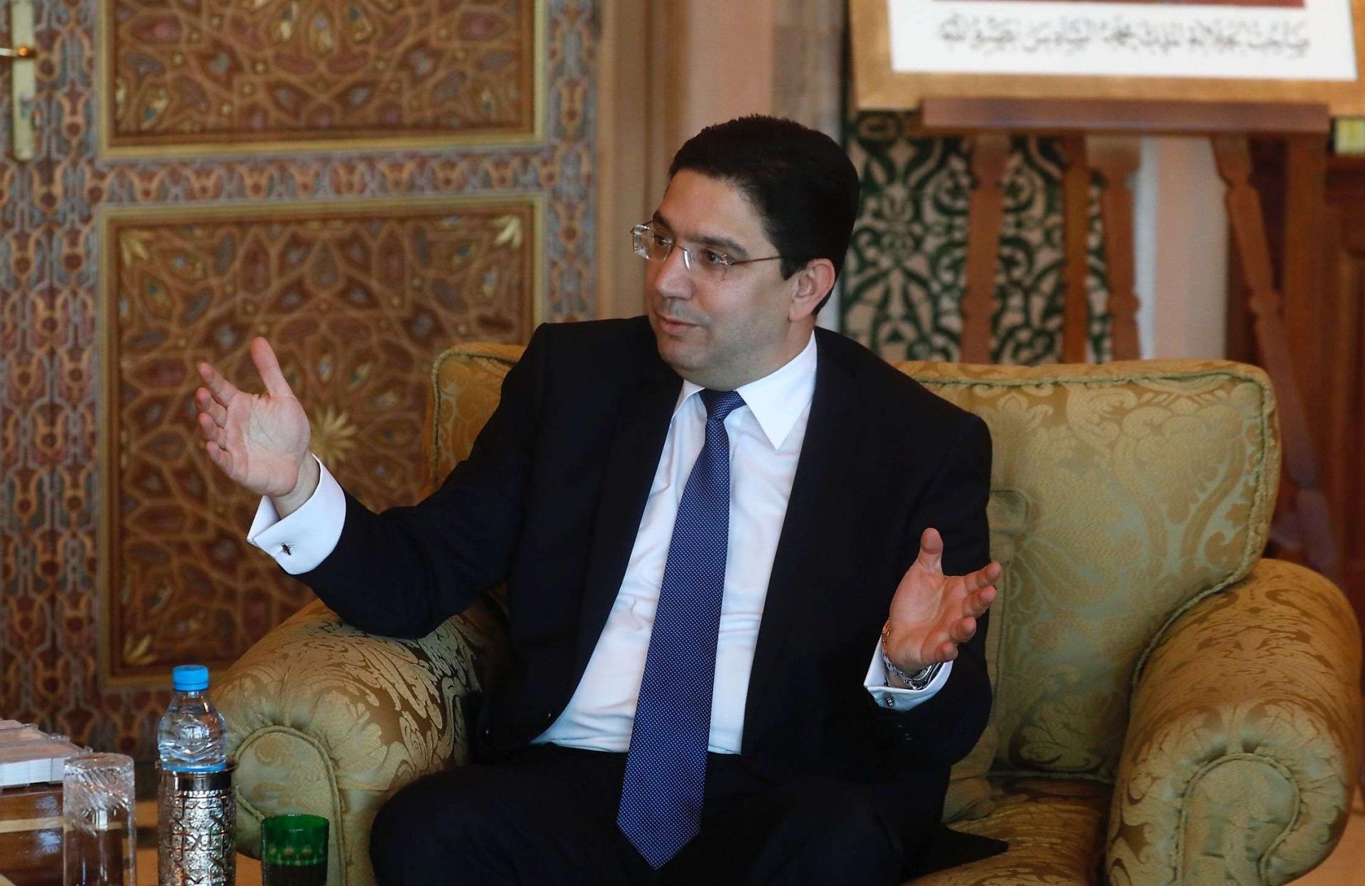نجل نتنياهو يطير فرحا بتصريحات وزير خارجية المغرب: ماذا قال على لسان محمد السادس؟
