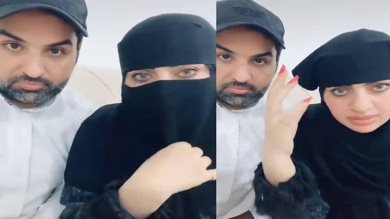 أميرة الناصر تهين الحجاب وتظهر بطريقة عجيبة (نصف لله والآخر لعباده)!