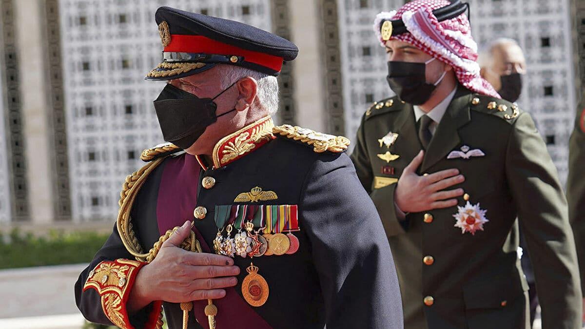 العاهل الاردني الملك عبدالله الثاني