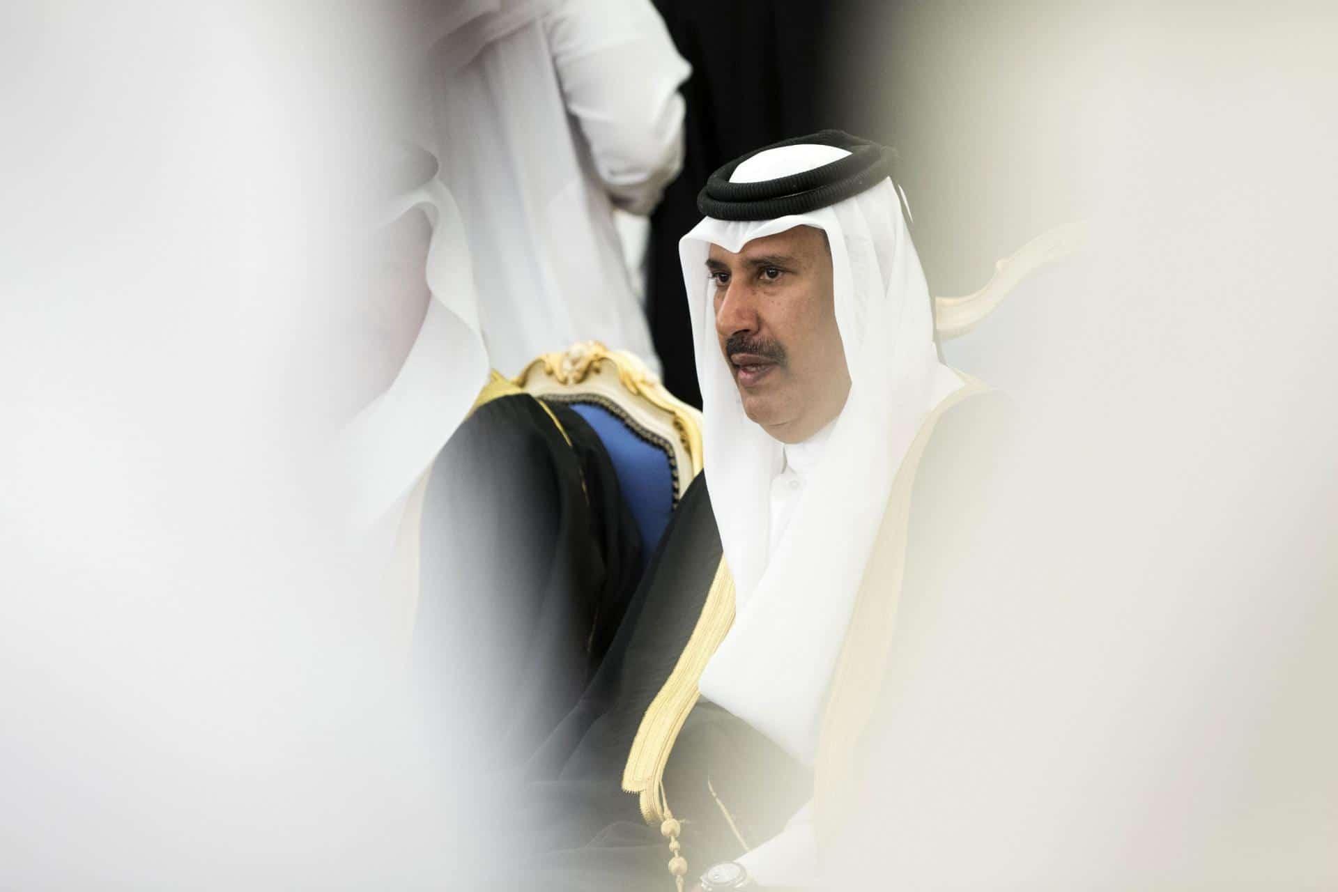 """هجوم مسيء وتطاول على الشيخ حمد بن جاسم  في صحيفة """"أخبار الخليج البحرينية"""""""