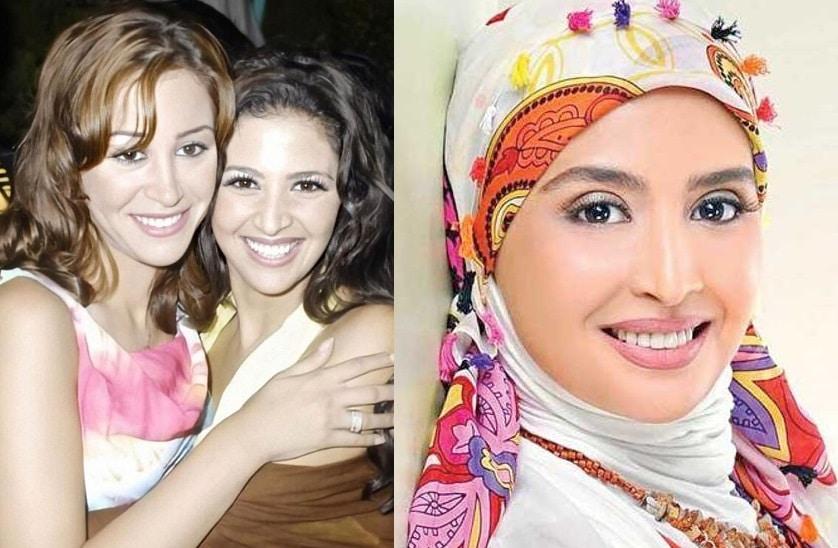 منة شلبي تثير ضجة بعد نشر صورة للفنانة حنان ترك قبل ارتدائها الحجاب!