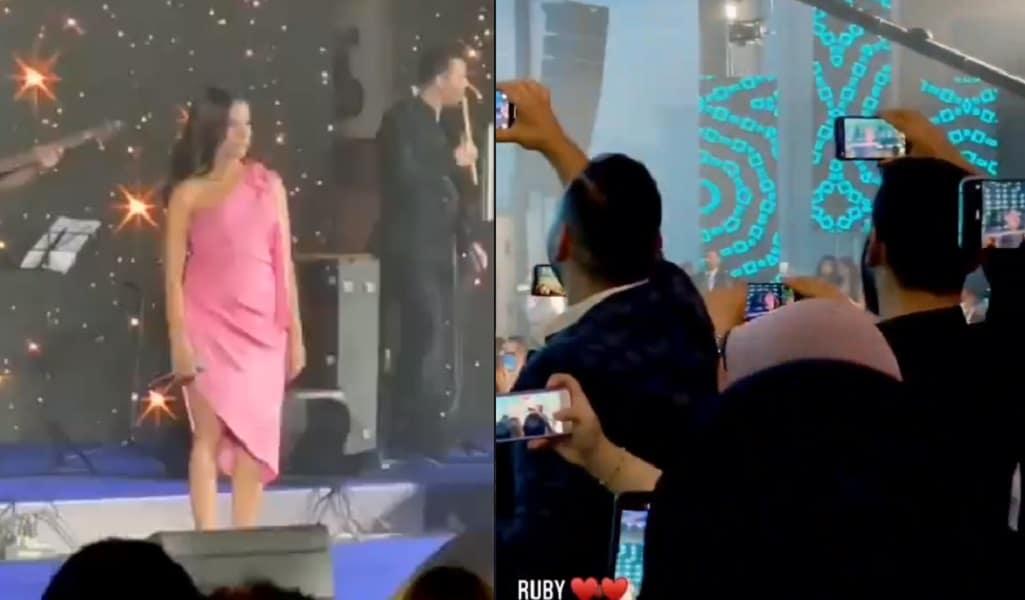 روبي تشعل حفلاً برقصتها الشهيرة من أغنية (ليه بداري كده) التي أدتها قبل 17 عاماً