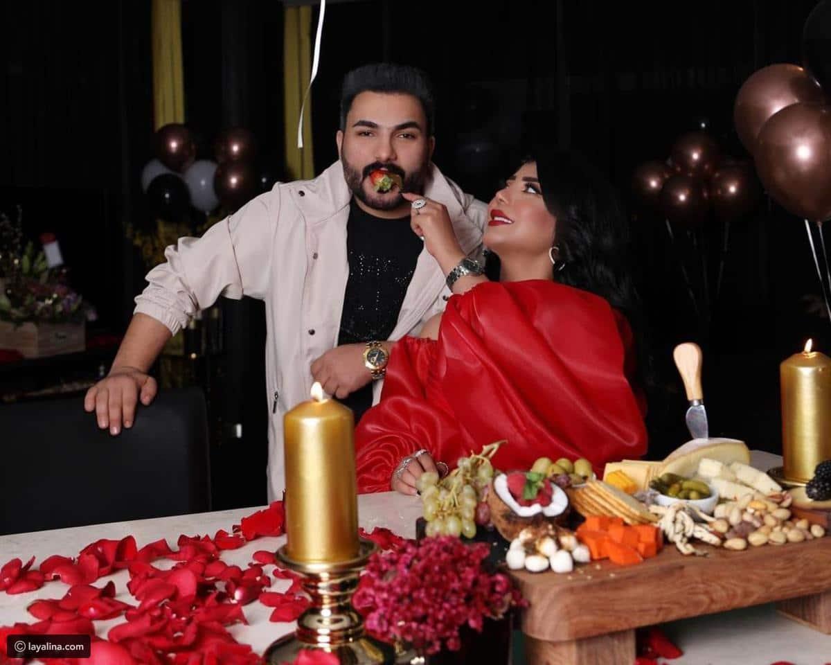 Sarah Al-Kandari and her husband