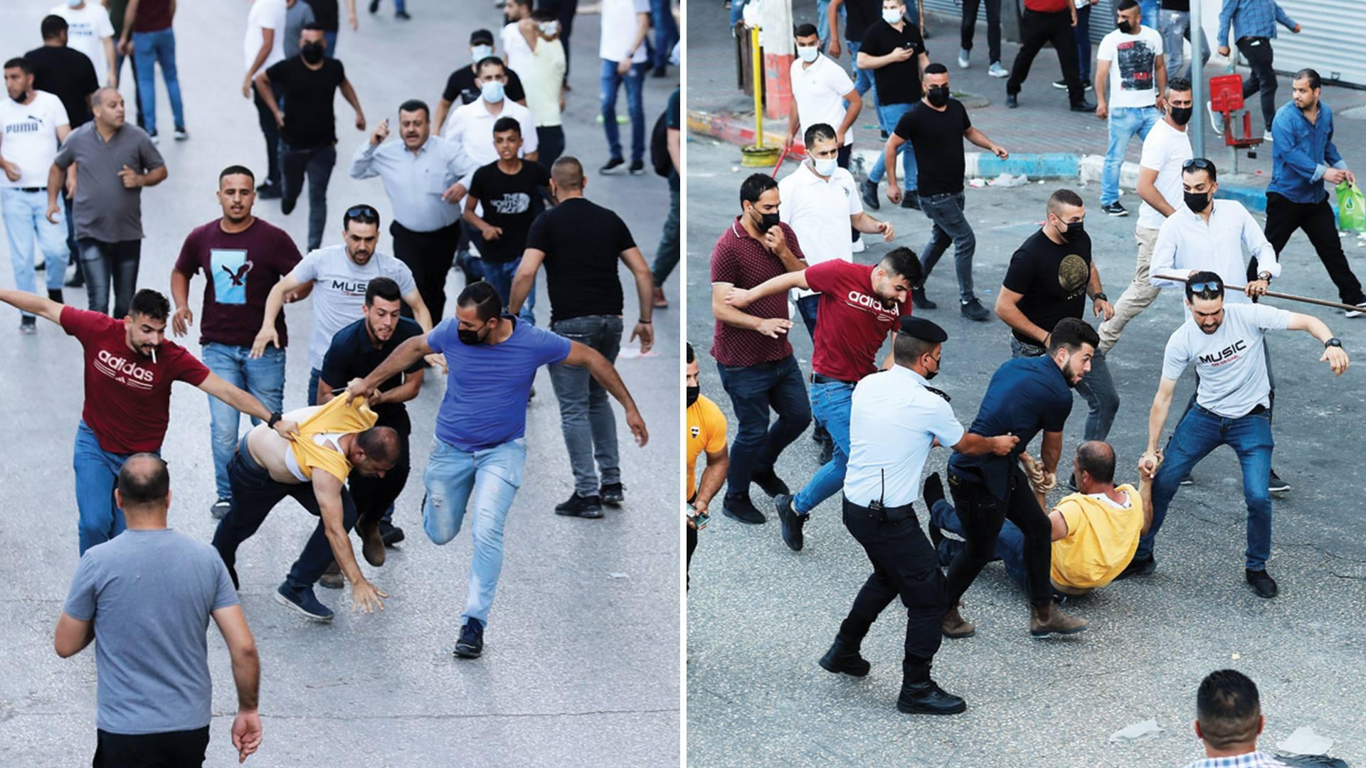 صحيفة: السلطة استعانت بخبرات النظام المصري لقمع التظاهرات المنددة باغتيال نزار بنات