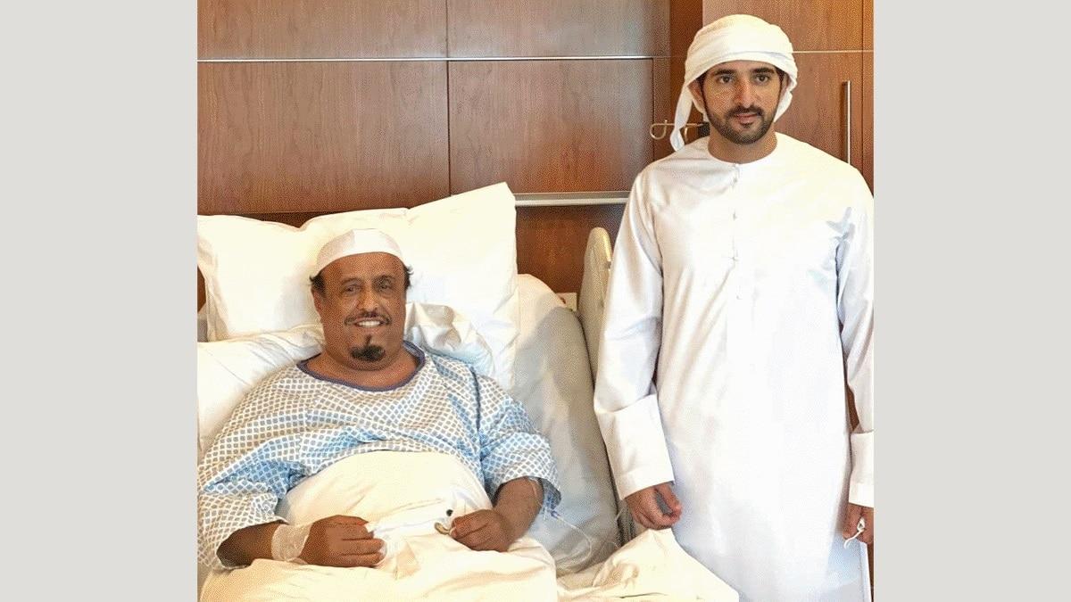 ضاحي خلفان يغازل ولي عهد دبي: (مديون لك سيدي العمر كله)