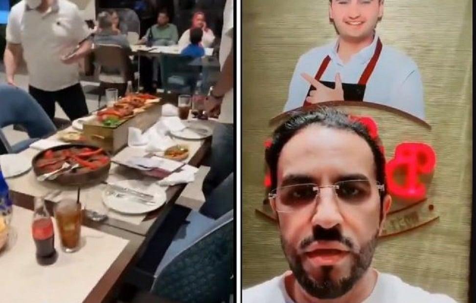 موظفة استقبال في مطعم بوراك بدبي تثير غضب محامي سعودي بسبب ما فعلته! (فيديو)