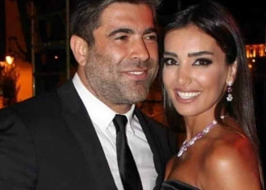 شاهدوا صور حبيبة وائل كفوري في أحضان زوجها الأول الذي أنجبت طفلاً منه!