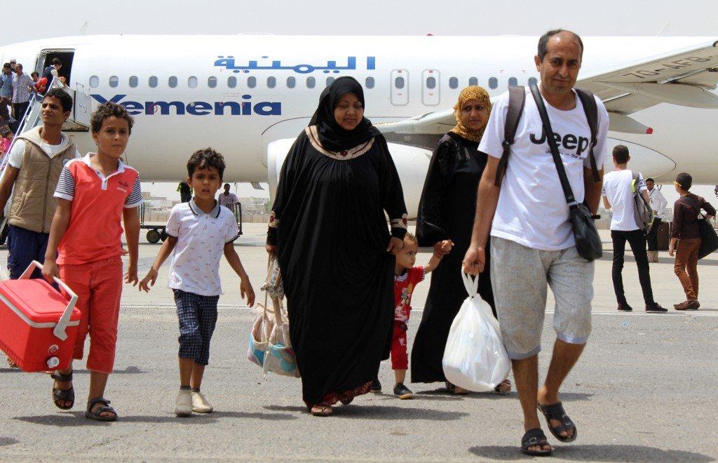 """""""نزوح جماعي"""" .. اليمنيون الذين أُجبروا على الخروج من السعودية يجدون في هذه الدولة ملجأً جديدًا"""
