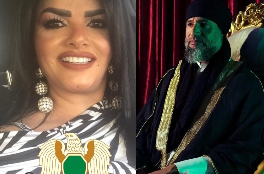 حارسة القذافي سابقاً تفتح النار على سيف الإسلام (شاهد)