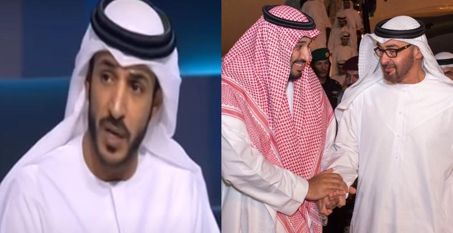 حمد المزروعي يسخر من السعودية بهذه التغريدة .. هل وصلته الأوامر بالتطاول على المملكة!