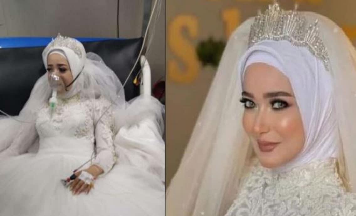 اليوتيوبر المصرية آية أسامة تقضي ليلة زفافها في المستشفى