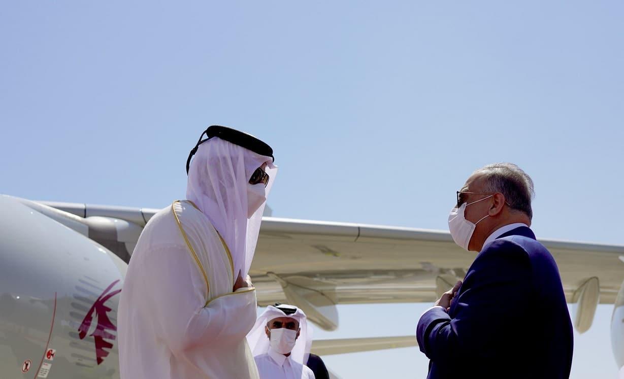 الكاظمي سيجمع السيسي وأمير قطر على طاولة واحدة لتقريب وجهات النظر بينهما أكثر