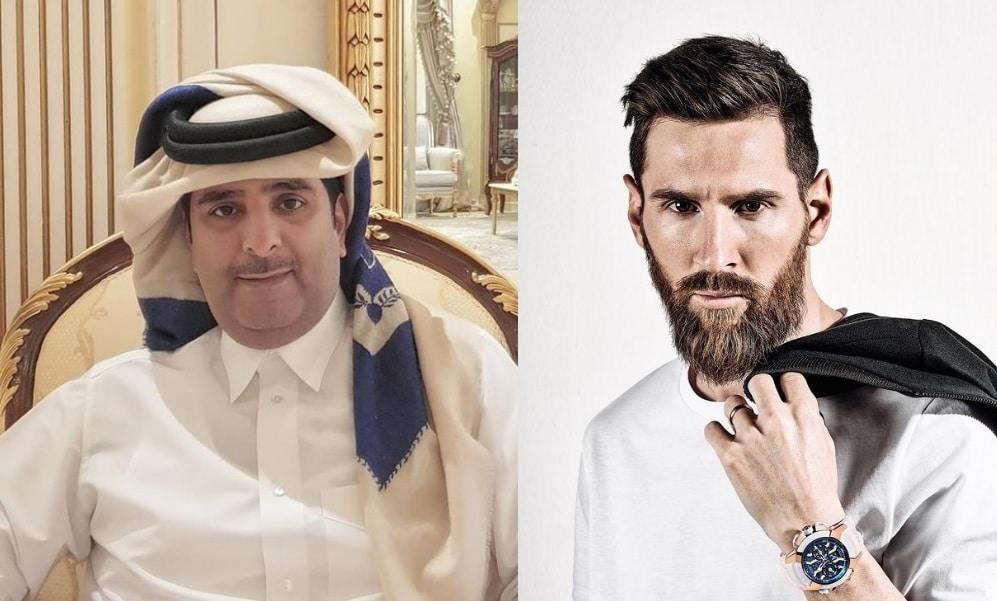 """ميسي الى باريس سان جيرمان .. شيخ قطري يعلن انتهاء مفاوضات التعاقد مع """"البرغوث"""""""