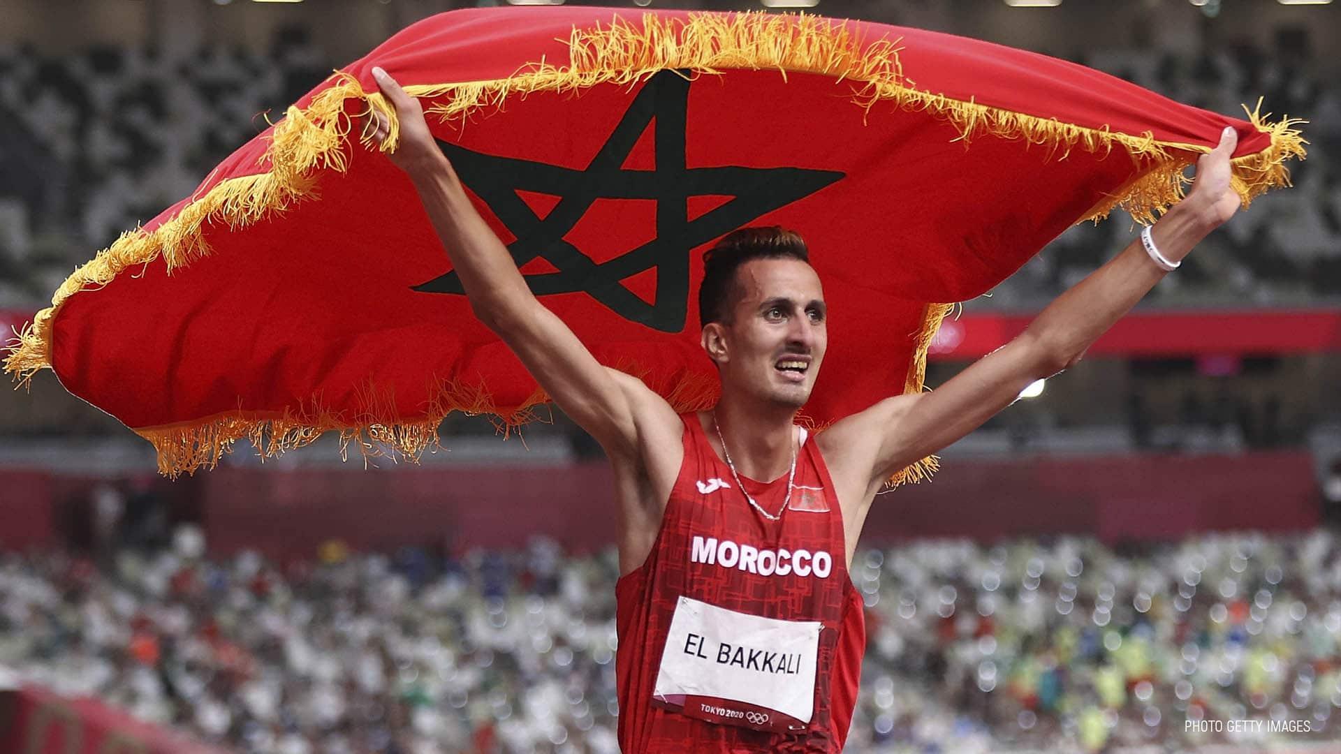 العداء سفيان البقالي يمنح المغرب أولى الميداليات الذهبية في أولمبياد طوكيو
