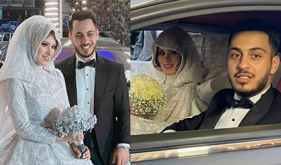 """شاهد أول صور للعريس الوليد مقداد وزوجته … وصدمة شقيقه """"عصومي"""""""