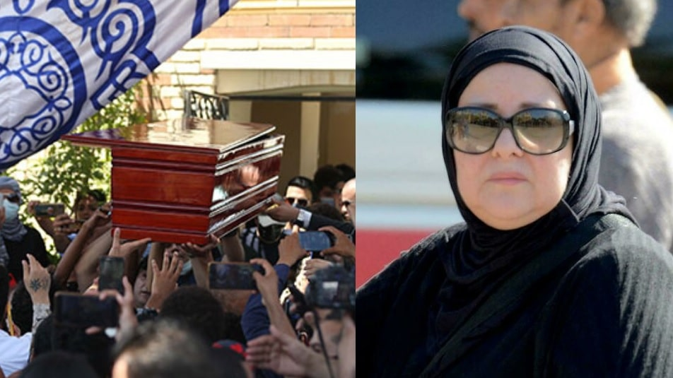 رامي رضوان ينشر رؤيا لحماته دلال عبدالعزيز ليلة وفاتها (شاهد)