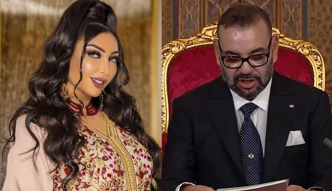 """هكذا هنّأت دنيا بطمة ملك المغرب محمد السادس بعيد ميلاده وتضامنت مع بلادها """"المستهدفة"""""""