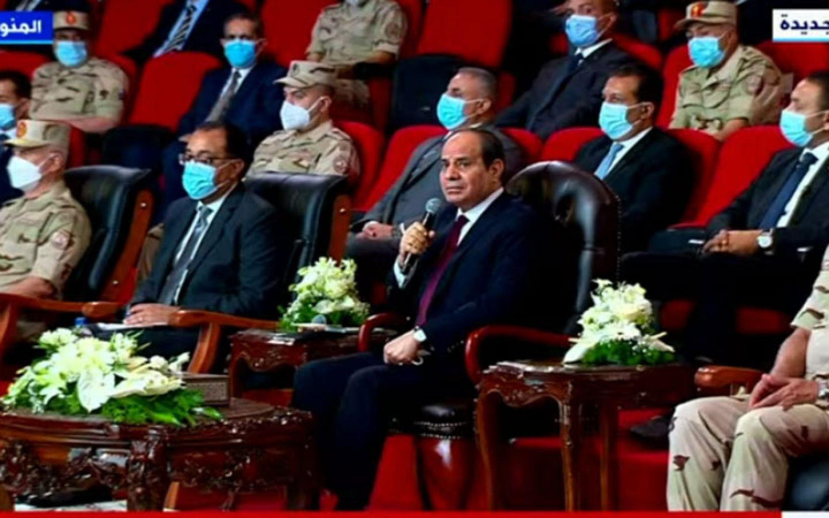 """""""إلا رغيف العيش"""".. ما قاله السيسي في أحدث ظهور له على الهواء فجر غضب المصريين (فيديو)"""