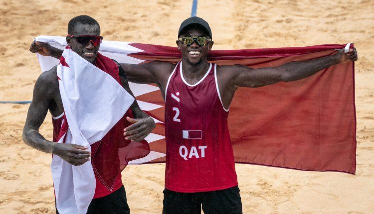 قطر وحصد الميدالية البرونزية في منافسات أولمبياد طوكيو