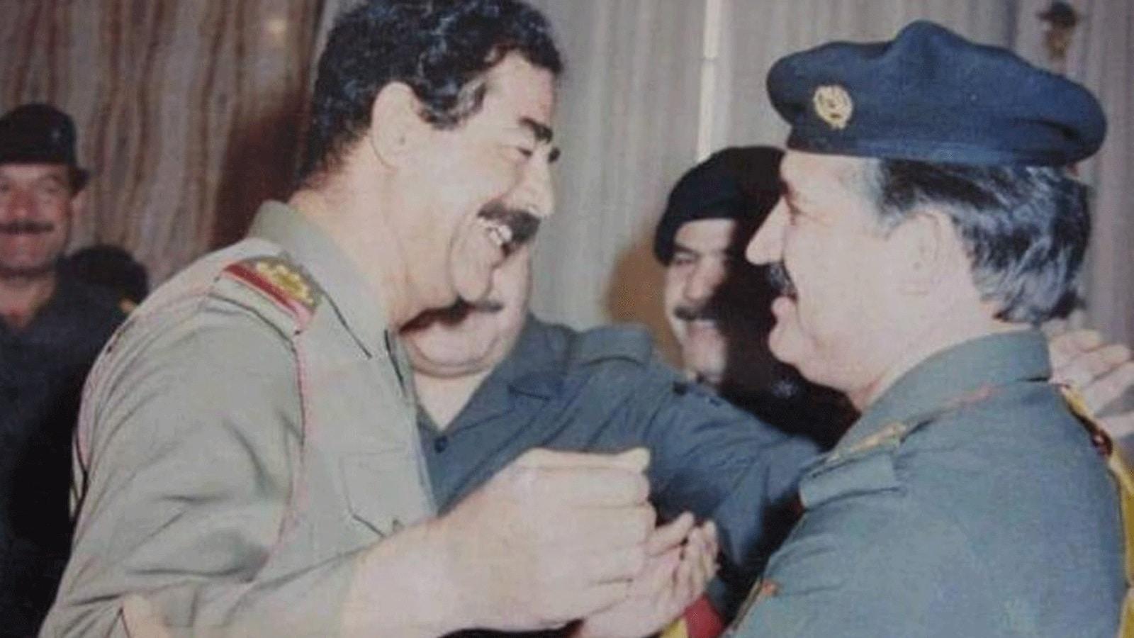 رغد صدام حسين تنعي وفاة لطيف جاسم.. تعرف على وزير الإعلام بعهد رئيس العراق الراحل