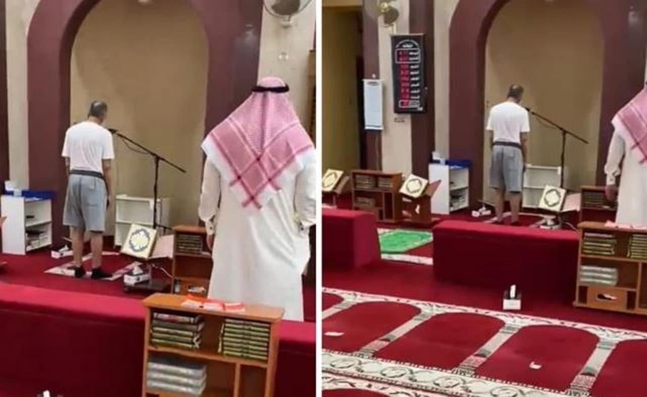 الكويت.. مؤذن يرفع الأذان بملابس غير لائقة ووزارة الأوقاف تتحرك (شاهد)