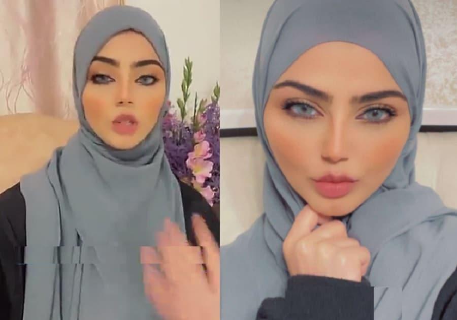 نيرمين محسن في أوّل ظهور بعد اعلانها ارتداء الحجاب تردّ على اتهامها بارتدائه لأجل الشهرة (شاهد)