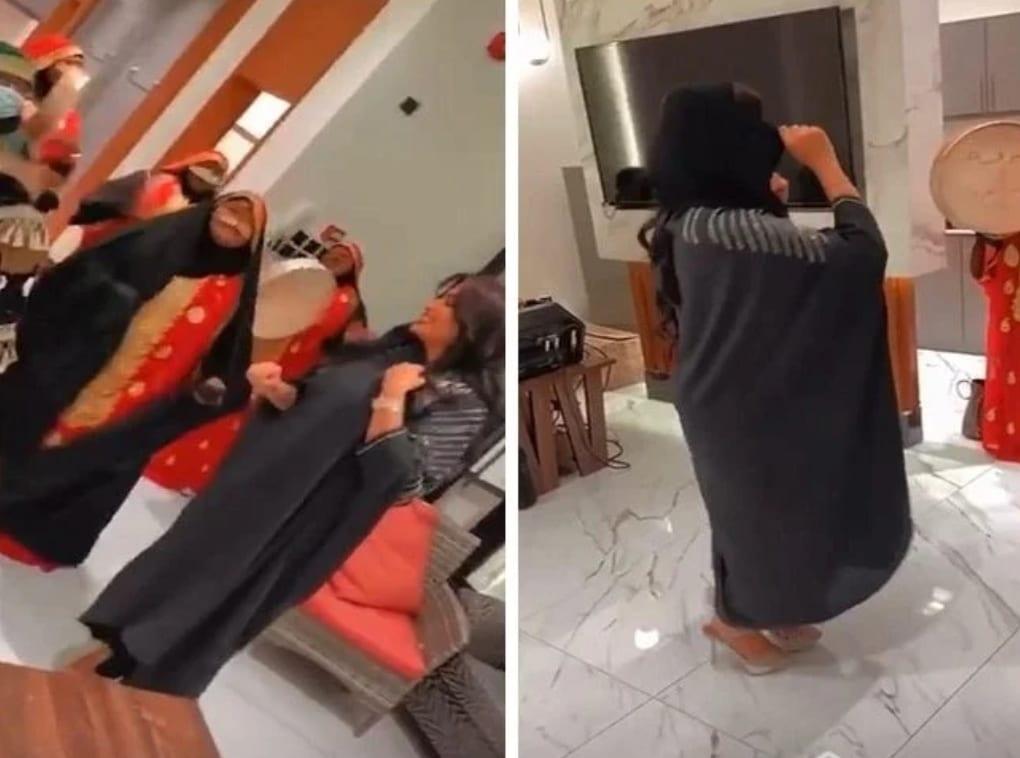 وصلة رقص بدور البراهيم على الطريقة البدوية (شاهد)