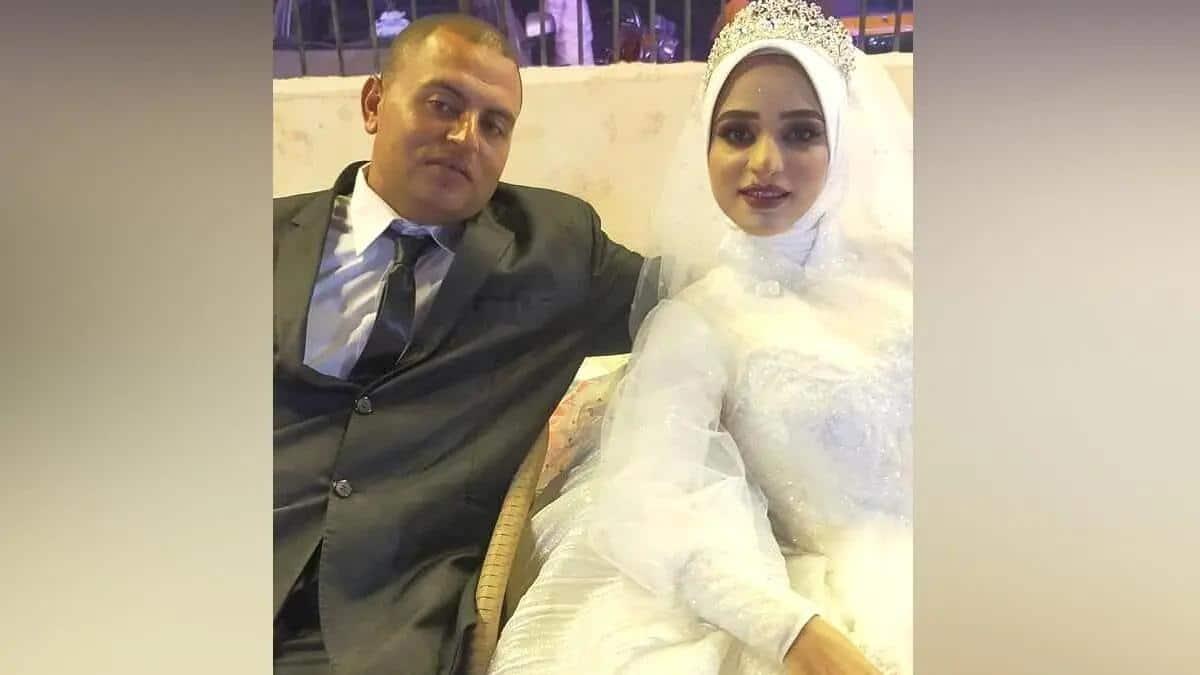 عروس مصرية حضرها ملك الموت بعد دخولها عش الزوجية بساعة! (شاهد)