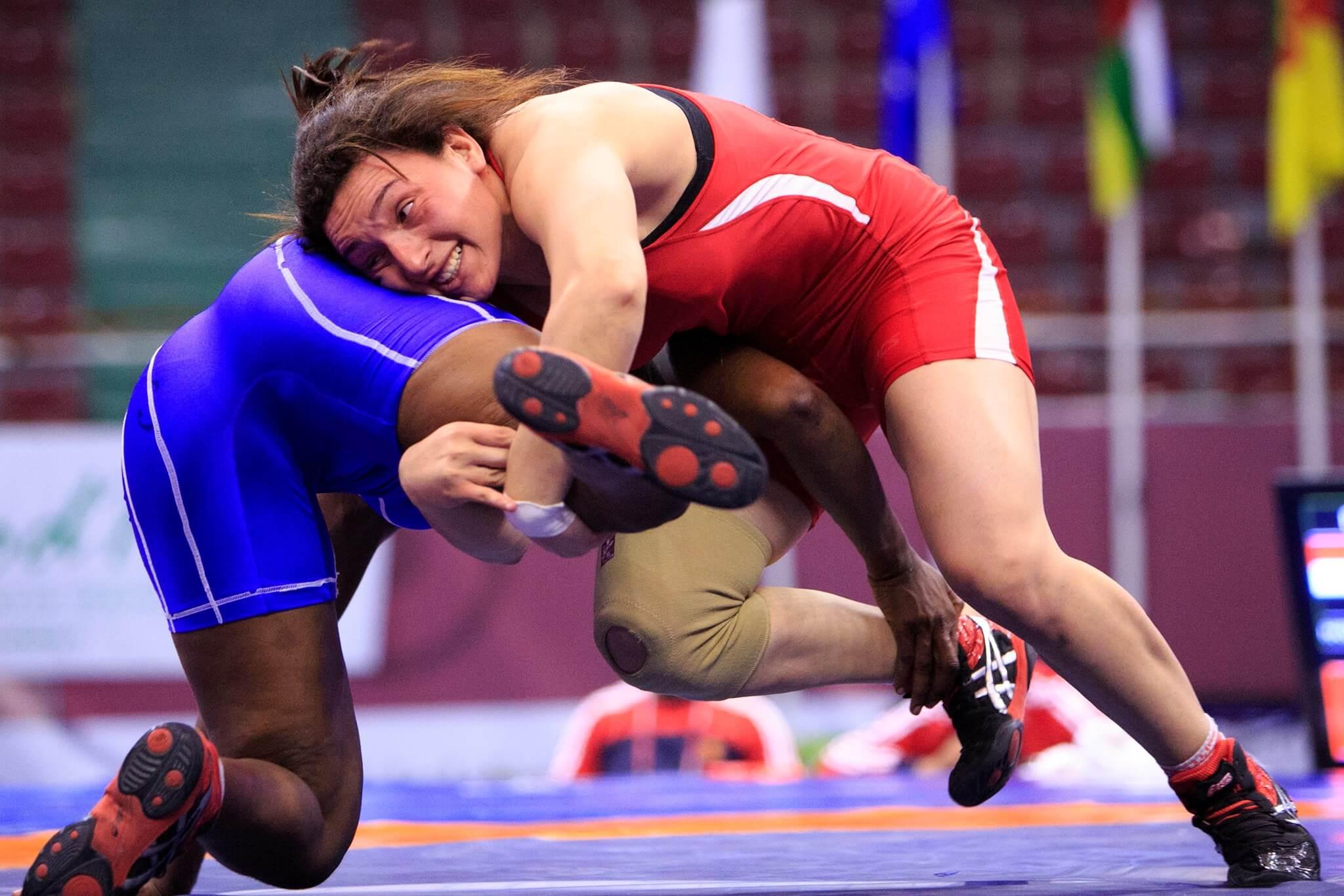 المصارعة المصرية سمر حمزة تعلن اعتزالها بعد خروجها من أولمبياد طوكيو