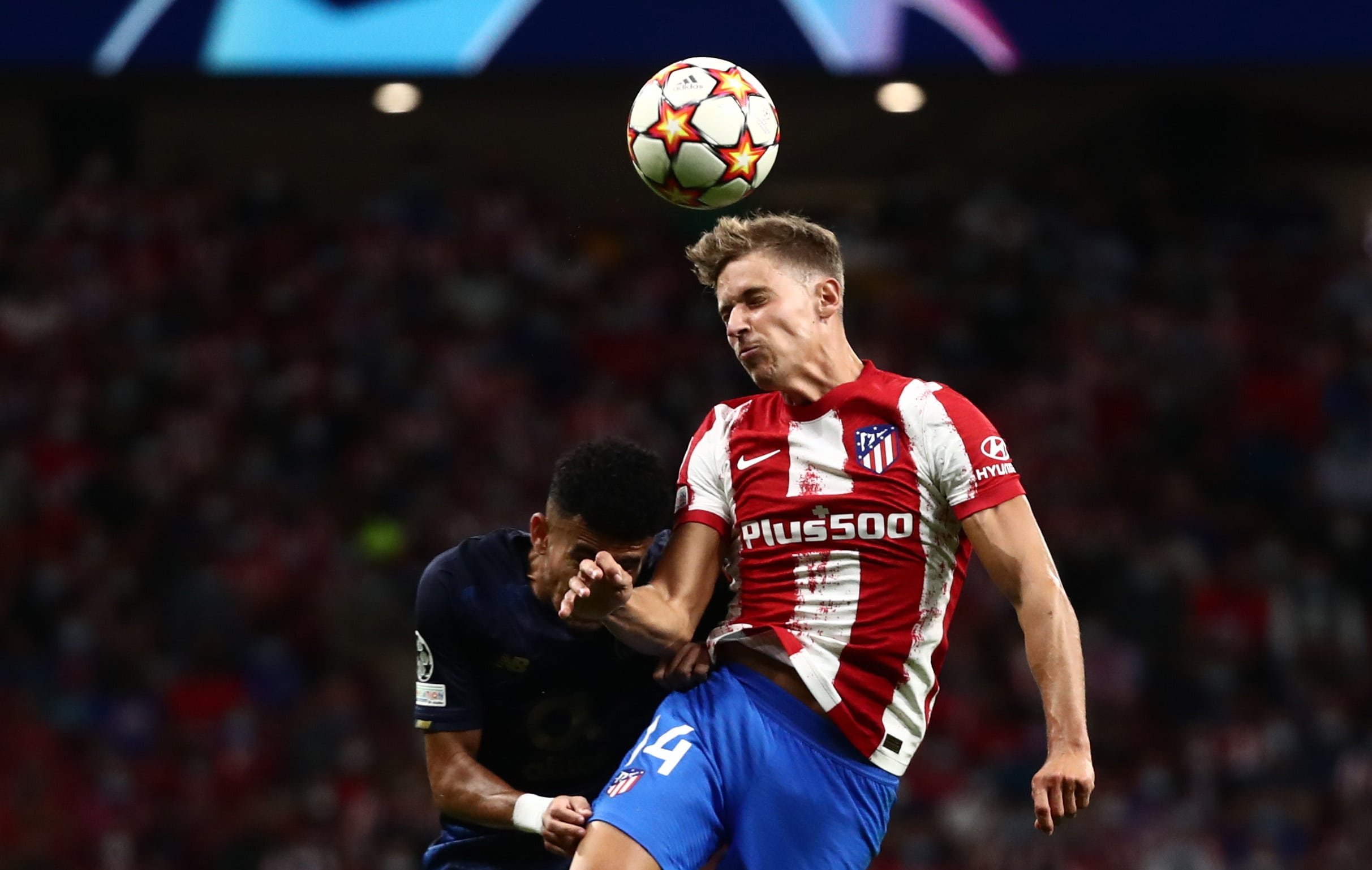 مباراة أتلتيكو مدريد وبورتو في دوري أبطال أوروبا