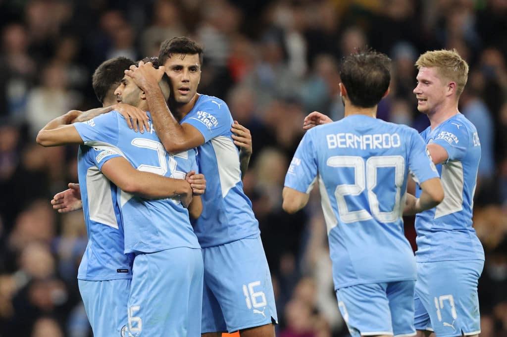 مباراة مانشستر سيتي و لايبزيغ في دوري أبطال أوروبا