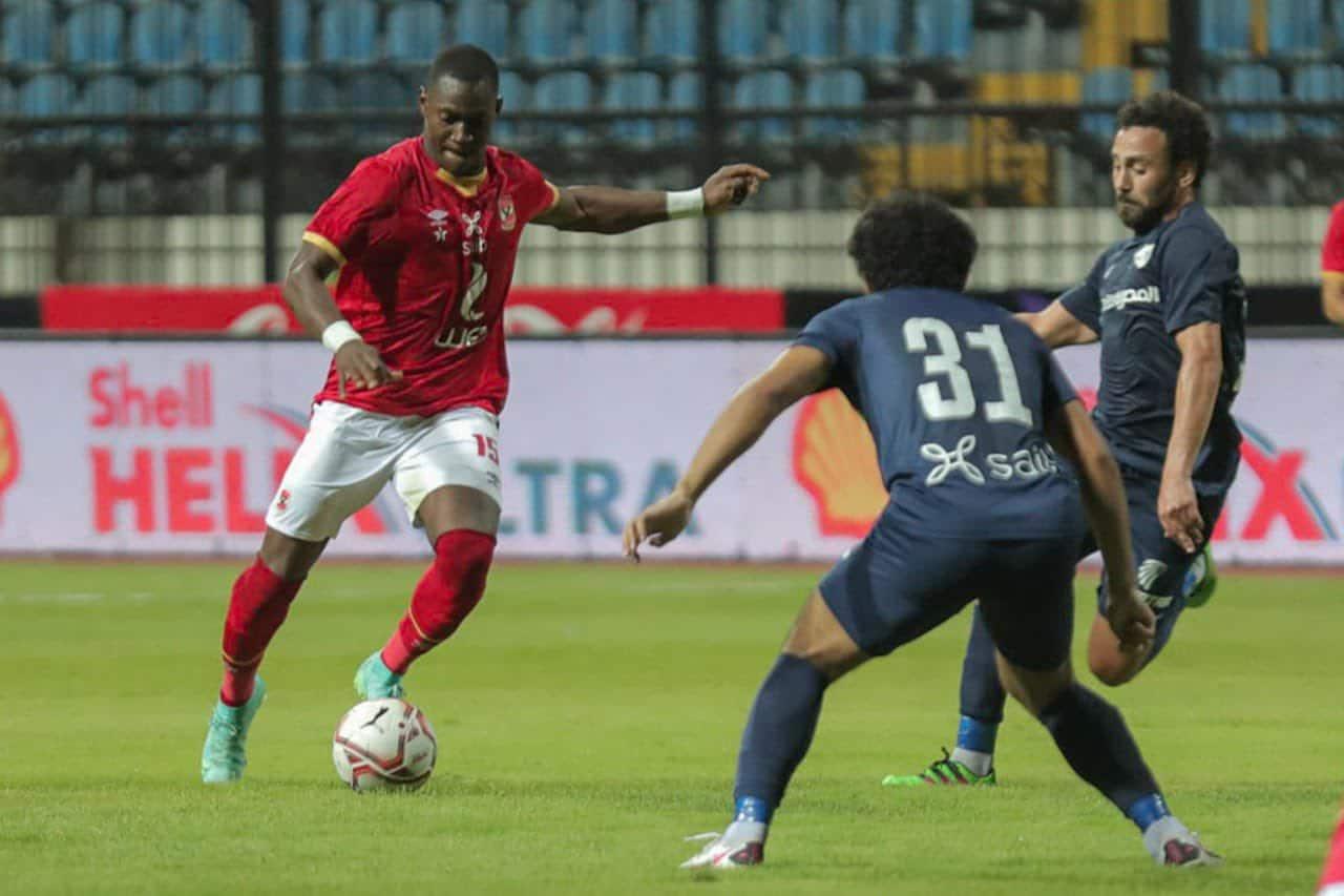 مباراة فريق الأهلي وإنبي في منافسات كأس مصر