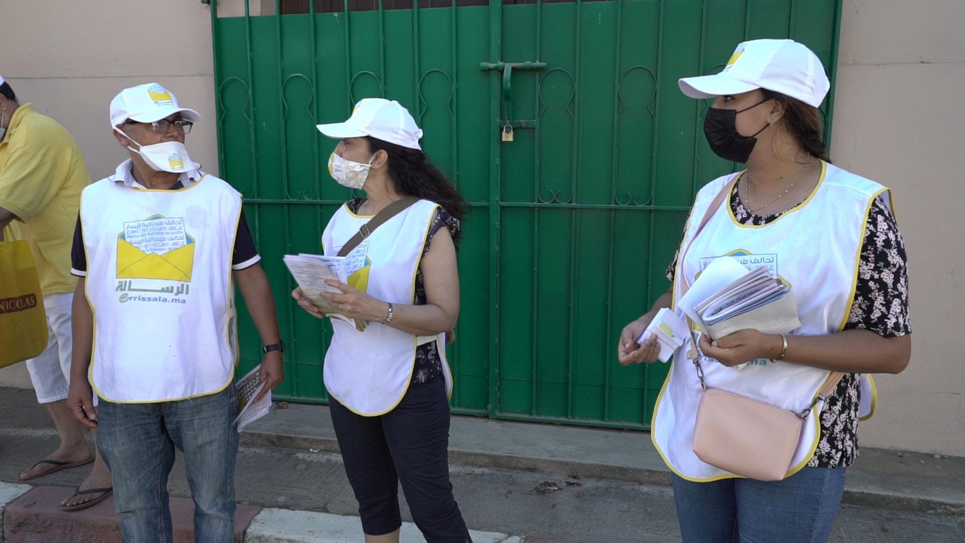 رشاوى مالية لاستقطاب الناخبين في انتخابات المغرب تثير انتقادات واسعة