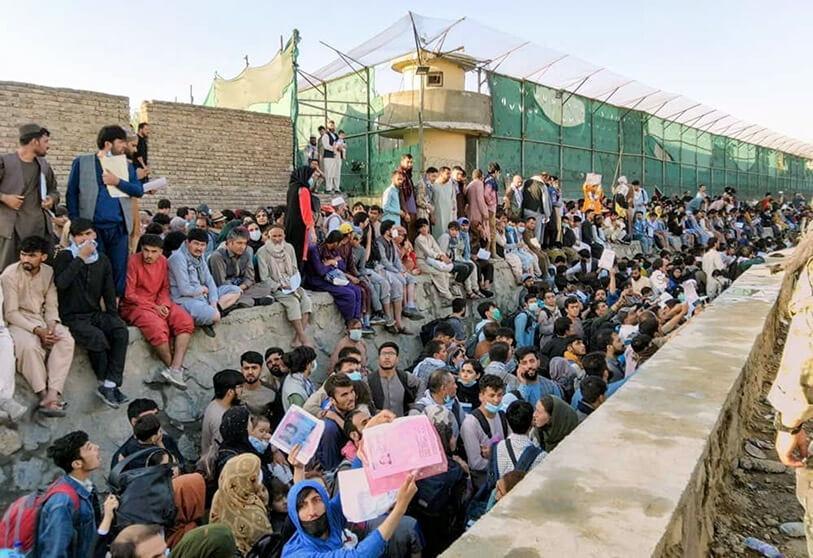 اللاجئين الافغان