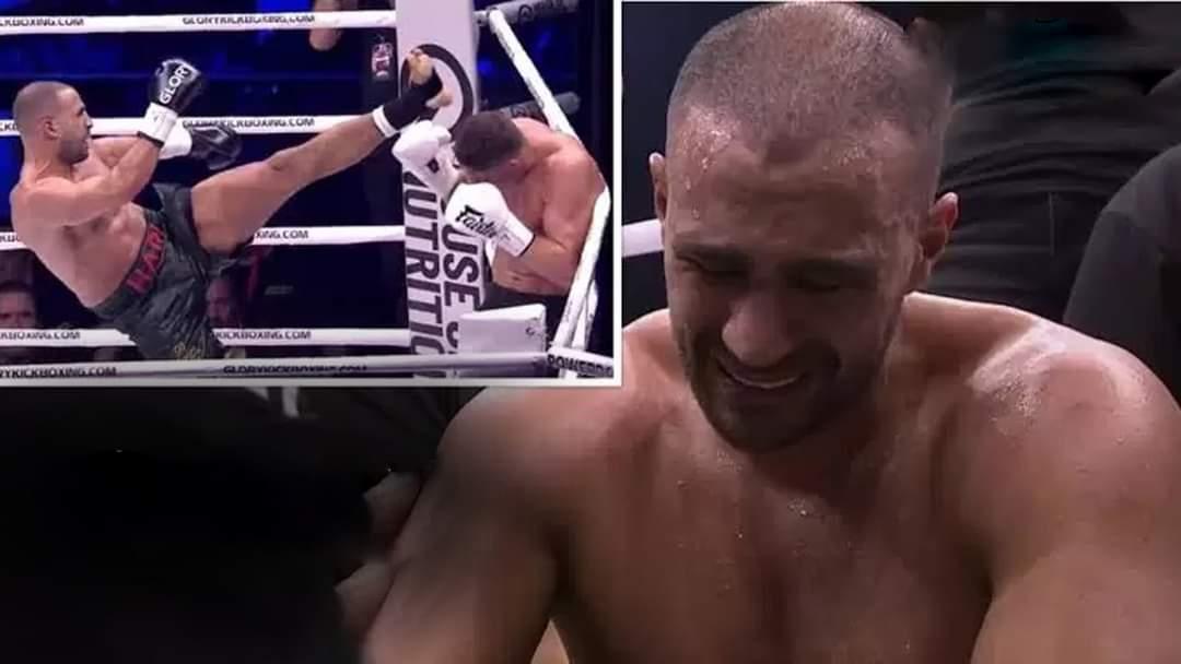 الملاكم المغربي بدر هاري يتلقى الهزيمة بالضربة القاضية أمام البولندي جوسيك (شاهد)