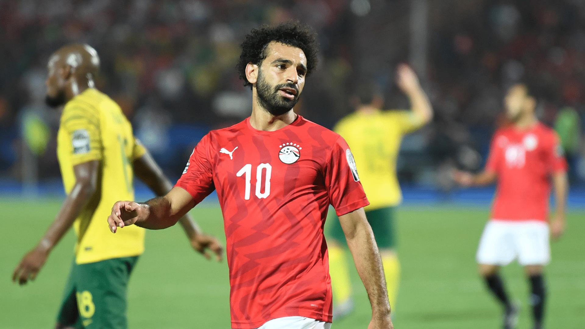 محمد صلاح ينضم إلى منتخب مصر استعدادًا لمواجهة الغابون (صور)