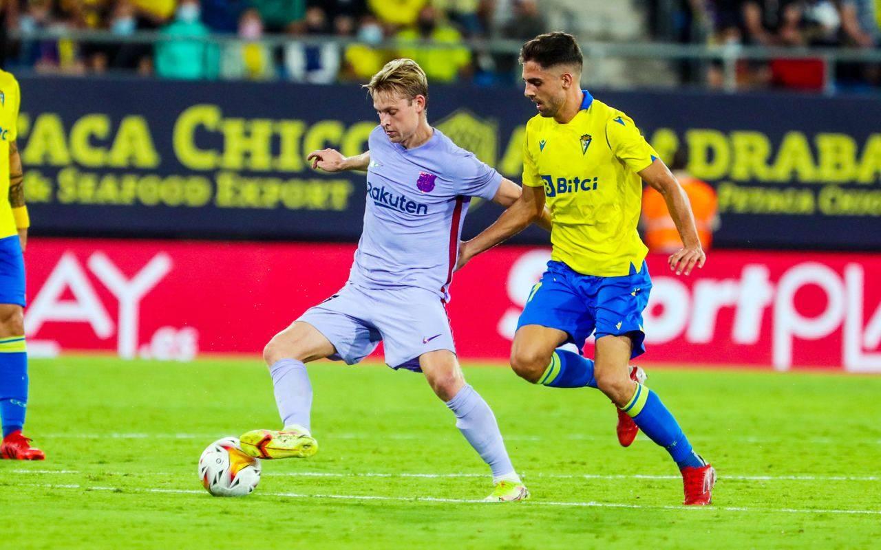مباراة برشلونة وقادش في الدوري الإسباني