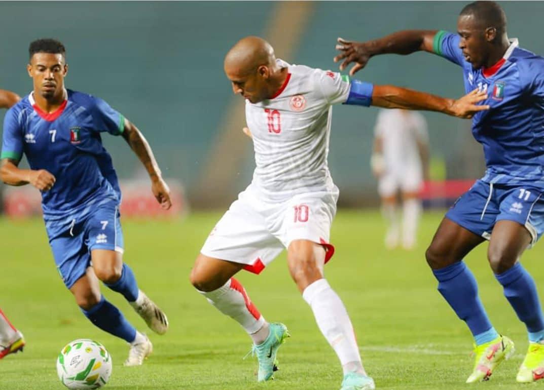 منتخب تونس يحقق الفوز النظيف على غينيا الاستوائية في تصفيات مونديال العالم 2022 (فيديو)