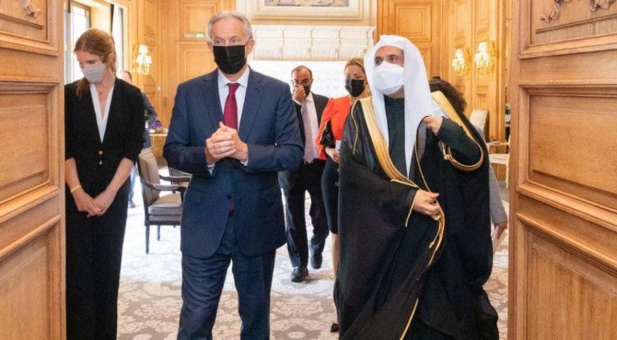 توني بلير في السعودية