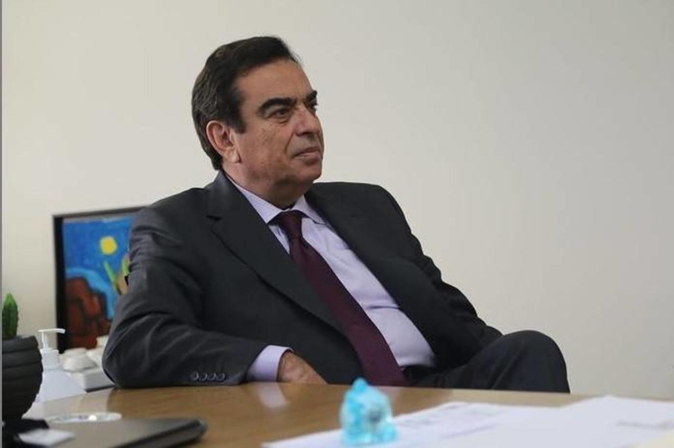 أول تصريح لجورج قرداحي وزير الإعلام اللبناني الجديد العائد من الإمارات