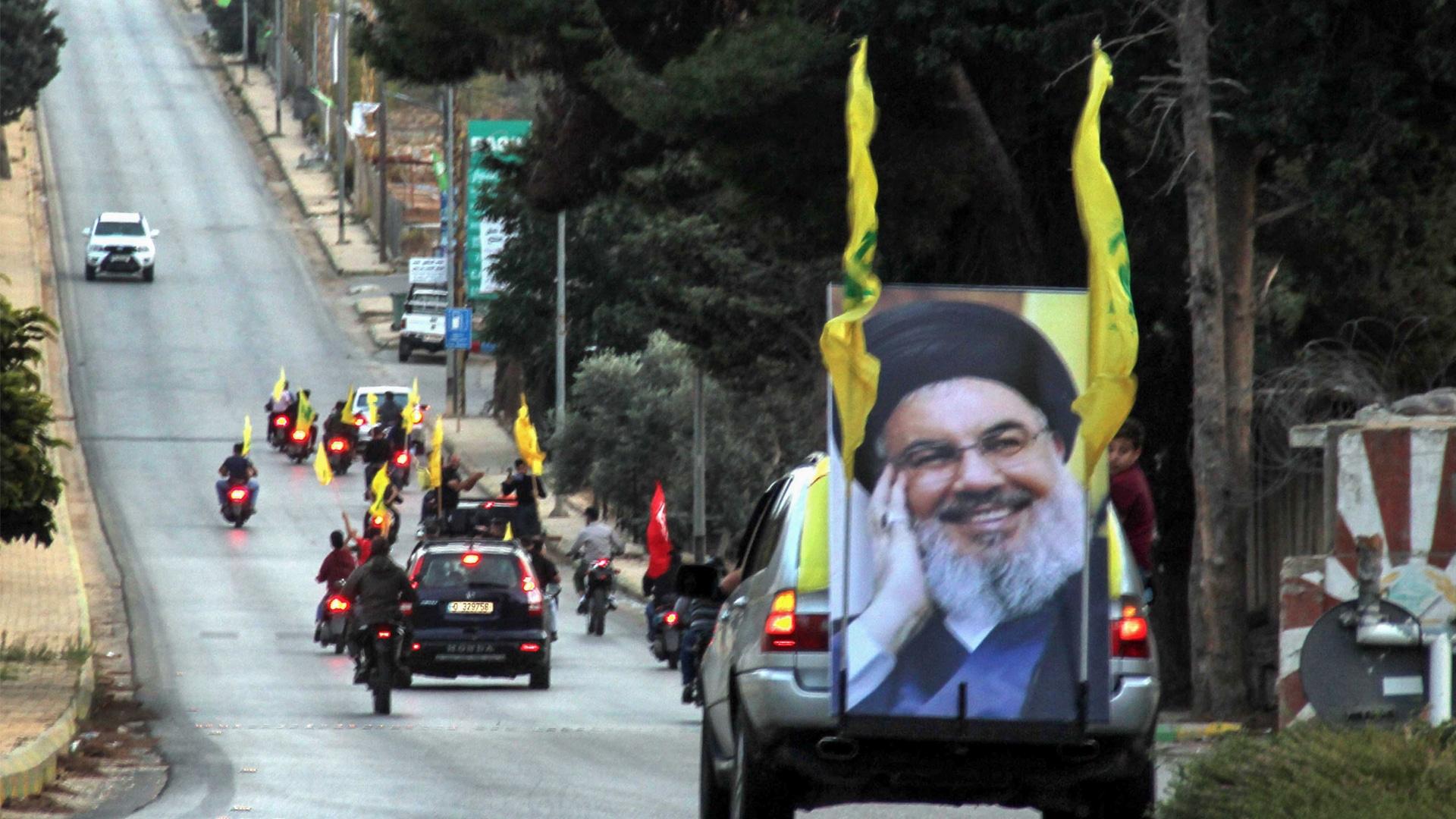 حزب الله يقود لبنان
