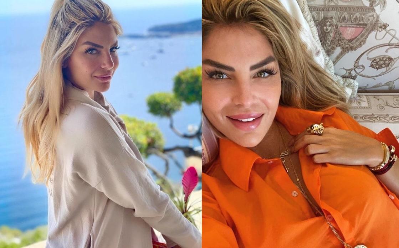ملكة جمال لبنان السابقة ساندرا رزق بإطلالة مُثيرة للجدل