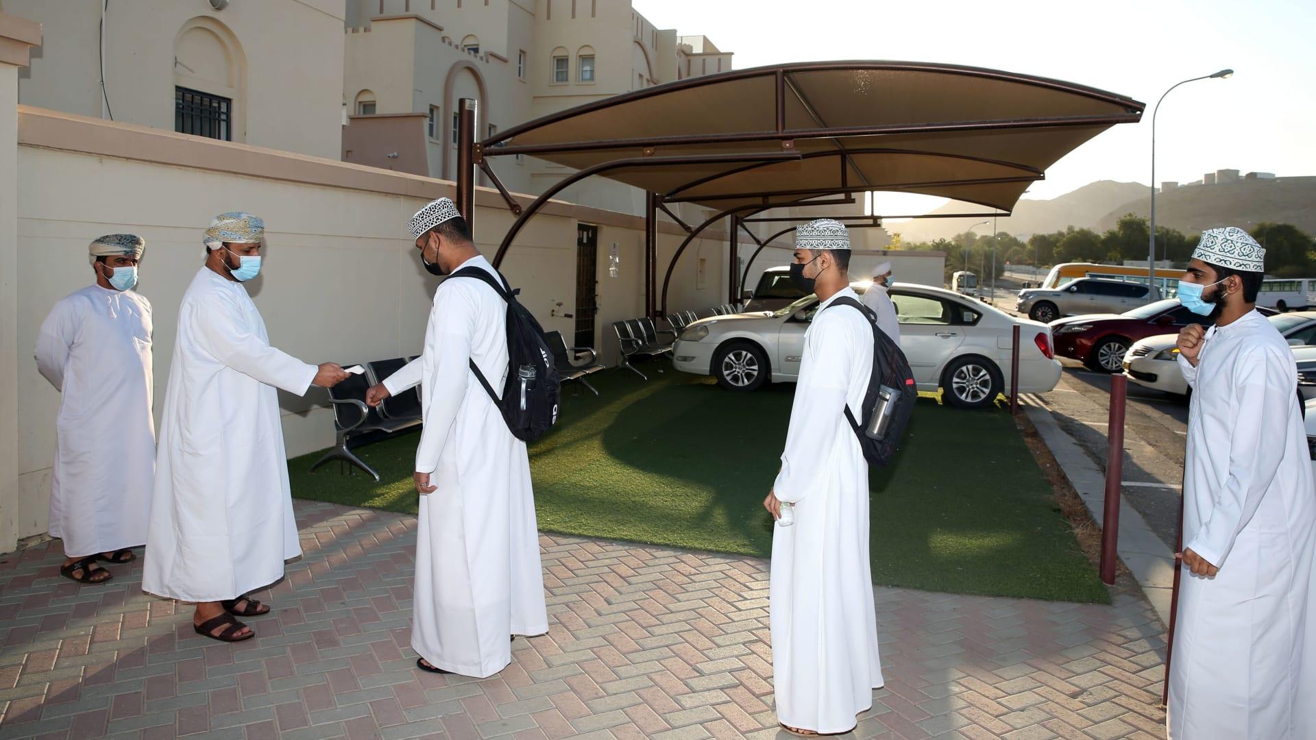 اجراءات كورونا في سلطنة عمان